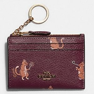 Nwt Coach Skinny Mini ID holder
